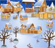 العاب تصميم قريه بالثلج جديدة