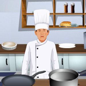 لعبة طبخ الشيف جورج بوش