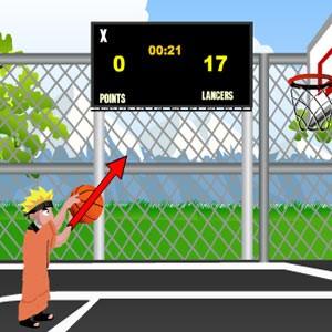 لعبة ناروتو كرة السلة naruto basket ball
