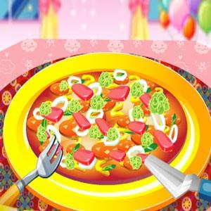 لعبة طبخ البيتزا مع نانسى nancys deluxe pizza