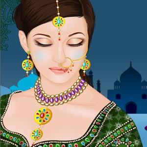 لعبة مكياج الفتاة الهندية - ميك اب الفتاة الهندية