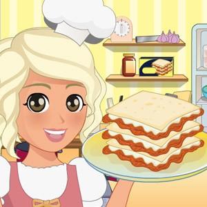لعبة طبخ الجبن مع مايا