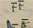 العاب حرب الاعداء فى الصحراء جديدة