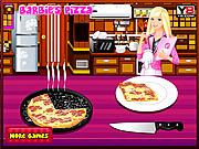 لعبة طبخ البيتزا مع باربى