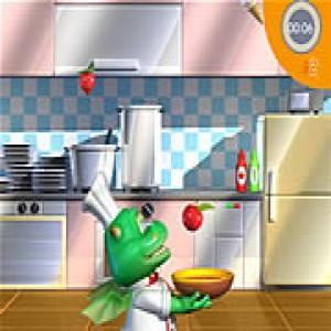 لعبة الشيف التنين والمطبخ السعيد