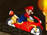 لعبة الدراجات نارية ماريو السريعة