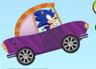 لعبة سونيك السيارة المجنونة