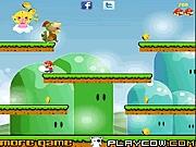 لعبة ماريو و مغامرة القطع الذهبية