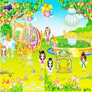 لعبة ديكور وترتيب حديقة أنجل angel garden