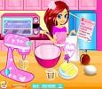 لعبة طبخ كيك عيد الحب الفلانتين