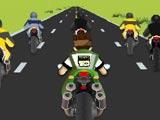 لعبة بن 10 الدراجة السريعة