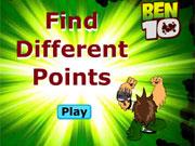 لعبة بن 10 الاختلافات