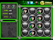 لعبة بن تن اختبار الذاكرة Ben 10 Memory