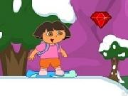 لعبة دورا التزلج علي الجليد