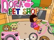 لعبة دورا محل بيع الكلاب
