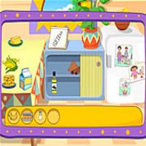 لعبة طبخ المأكولات مع دورا - لعبة دورا فى المطبخ