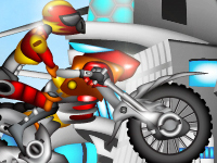العاب الدراجة النارية الحمراء 2014