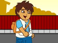 العاب دييغو والذهاب للمدرسة