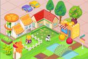 لعبة ترتيب مدينة الفواكه