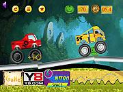 لعبة سباق الشاحنات الضخمة Monster Truck Race