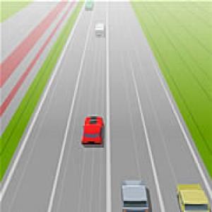 لعبة سيارات احذر من الاصطدام 2014