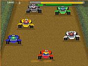 لعبة سباق سيارات دبابات