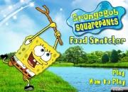 لعبة سبونج بوب البحث عن الطعام