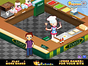 لعبة المطعم الماكولات السريعة