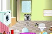 لعبة ديكور الحمام
