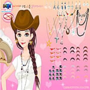 لعبة تلبيس الأميرة تيكسان