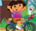 العاب مغامرة دراجة دورا في حديقه الفراوله جديدة